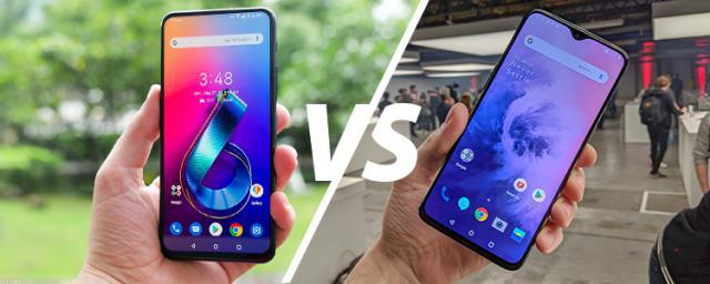 ASUS ZenFone 6 vs. OnePlus 7 Face to Face