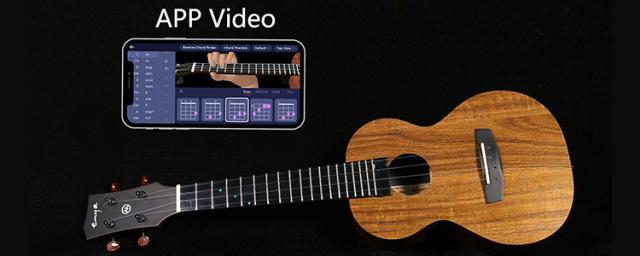 A Must-have Ukulele for Beginners: Follow the Light to Learn a Song with ENYAMUSIC Smart U1K Quickly
