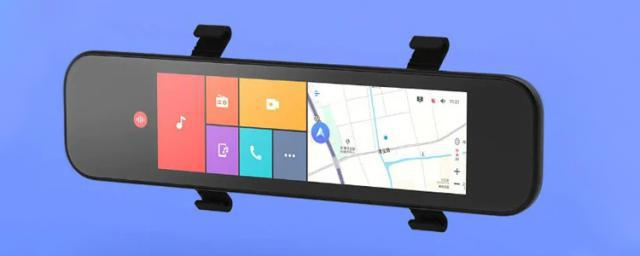 The Latest Xiaomi Car Rearview Mirror Dash Cam Which Supports SIM Card and GPS