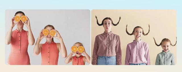 Get Inspired from 20 Creative Parent and Child Photos, and You Won't Go To A Photo Studio Any More!