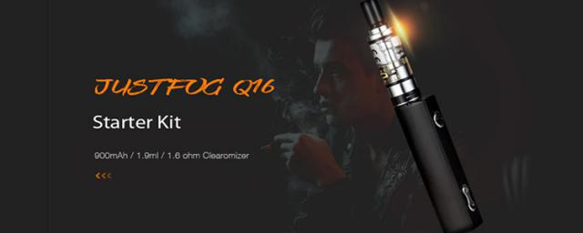 The JUSTFOG Q16 Starter Kit Will Bring Excitement in Your VAPING Experience, Cost Less Than $25