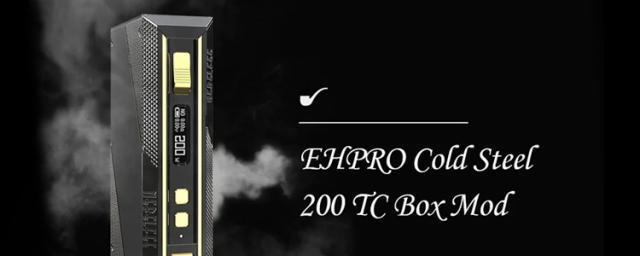 The EHPRO Cold Steel 200 TC Mod Is What You Can Rely On