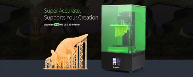The Most Cost-effective Professional-grade LCD Photocuring 3D Printer! Turn Your Ideas into Reality!