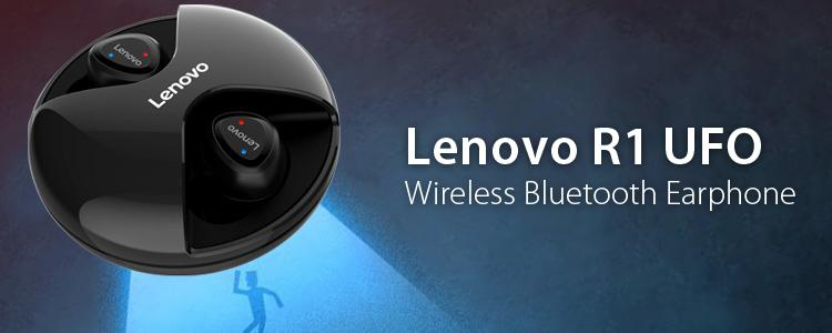 Lenovo R1 UFO Wireless Bluetooth In-ear Earbuds: The Melodious Music from Outer Space
