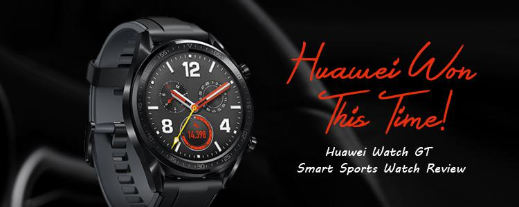 Huawei Won This Time! Huawei Watch GT Smart Sports Watch Is The Most Impressive Smartwatch I've Ever Used