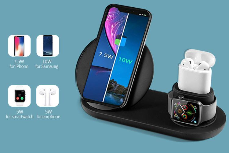 This $18 Multi device Wireless Charger Charges Your iPhone