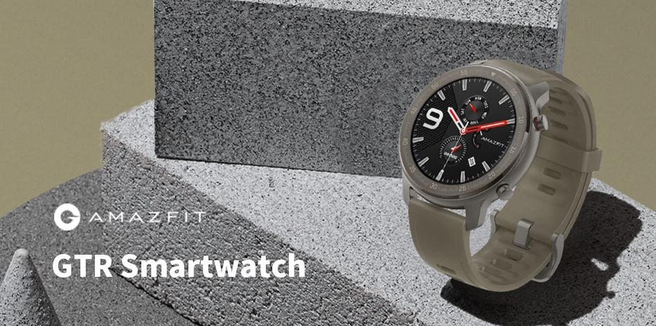 Apple Watch vs. the Amazfit GTR 47mm Titanium Edition at Only $199.99