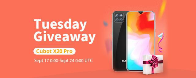 [Winner Announced!]SHARE & GET IT FREE! Get a $250 CUBOT X20 Pro For Free!