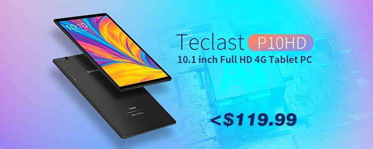 [Coupon Included] Teclast P10HD 10.1-inch Tablet Under $119.99! What's Different with a Tablet PC That Uses UNISOC SC9863A Octa-core Processor?