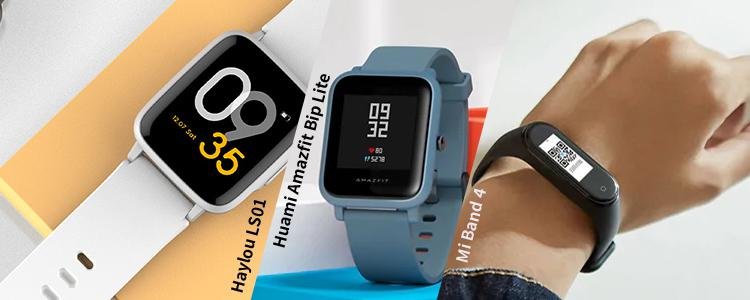 Xiaomi Haylou LS01 vs. Xiaomi Mi Band 4 vs. Huami Amazfit Bip Lite: Which Smartwatch is Best for Fitness Tracking?