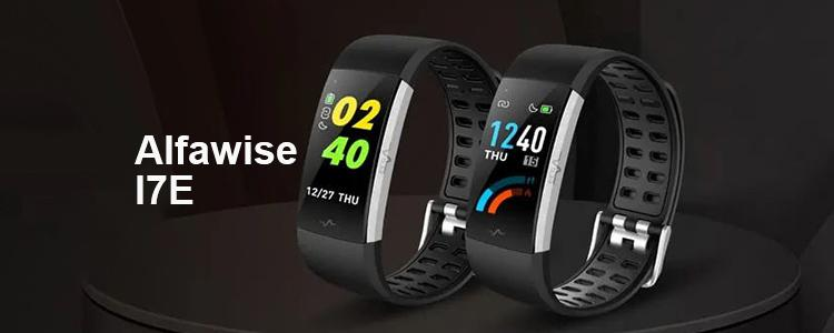 Alfawise I7E Is the Most Affordable ECG Monitor Smart Fitness Tracker for Only $28.99!