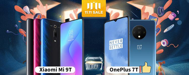 OnePlus 7T vs Xiaomi Mi 9T: Why OnePlus 7T is the Best Selling Rather Than Xiaomi Mi 9T On Gearbest Double 11 Sale