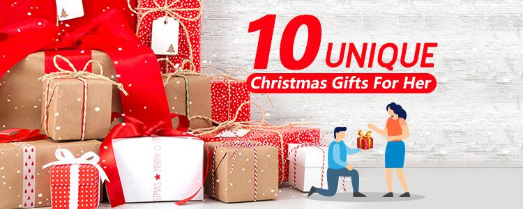 10 unique Christmas gifts for your girlfriend to prove that you love her very much