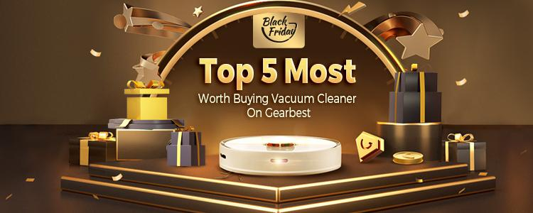 Top 5 Most Worth Buying Vacuum Cleaner On Gearbest.