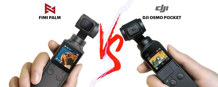 Xiaomi Fimi Palm VS DJI Osmo Pocket; Stronger and Cheaper, Only $144.99.