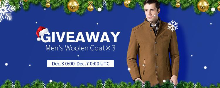 Giveaway: Just 3 Easy Steps To Win a $210 Fashion Woolen Coat, Three Winners!