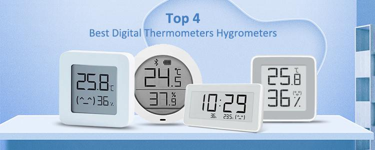 Top 4 Best Digital Thermometers Hygrometers from Xiaomi Youpin