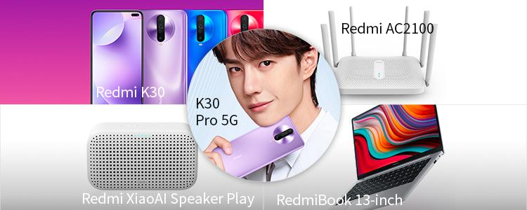 Xiaomi Product Launch Event on December 10: Here Come Redmi K30 & K30 Pro 5G, RedmiBook 13-inch, Redmi XiaoAI Speaker Play, Redmi AC2100 Router!