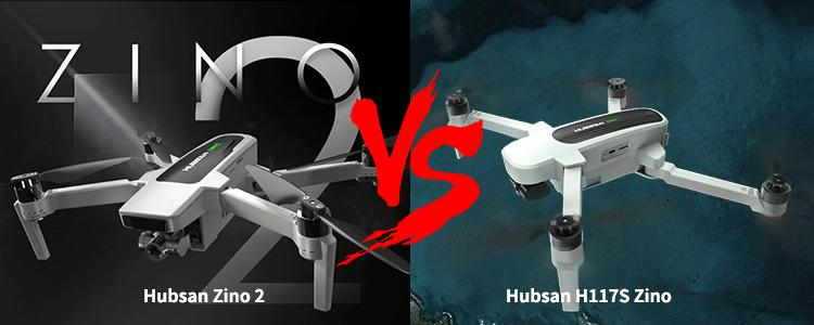 Hubsan Zino 2 vs Hubsan H117S Zino: Should You Pay $100 More to Upgrade the Drone?