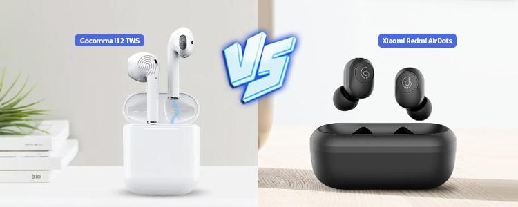 Xiaomi Redmi AirDots vs. Gocomma i12 TWS Bluetooth Earbuds: Which is better under $22?