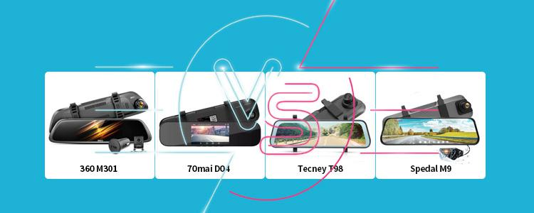 360 M301 vs 70mai D04 vs Tecney T98 vs Spedal M9: Which Smart Car DVR Camera is More Worth Buying?