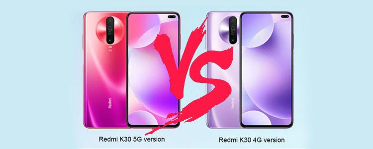 Redmi K30 5G vs Redmi K30 4G: Differences & Prominent Features That You Should Know