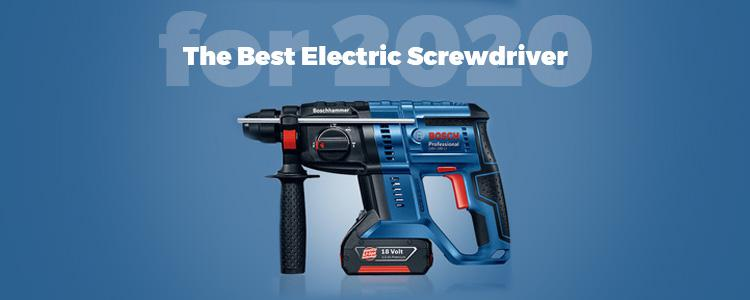 The Best Electric Screwdriver for 2020! BOSCH GSR 18V-50 Cordless Drill for Higher Efficiency in Professional Drilling