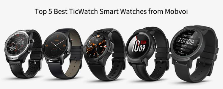 Ticwatch E White Smart Watches Sale Price Reviews Gearbest