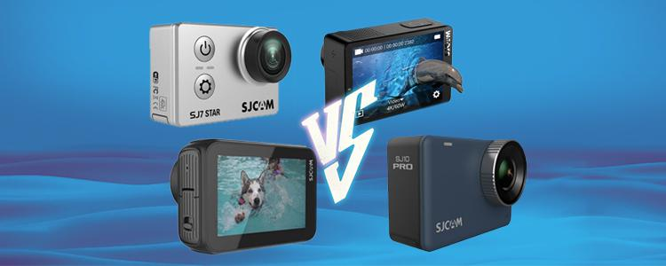 SJCAM SJ10 PRO vs SJ9 Strike vs SJ8 Pro vs SJ7 STAR 4K Action Camera: Should You Wait for the Upcoming SJ10 Series? Which Cam is more worth Buying?