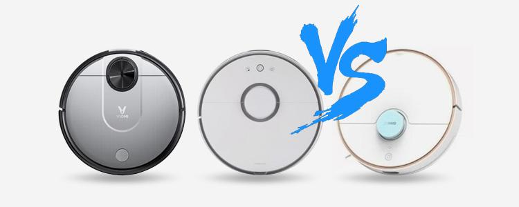VIOMI V2 Pro vs Roborock S50 vs 360 S7: Which Robot Vacuum with Mop is Better?