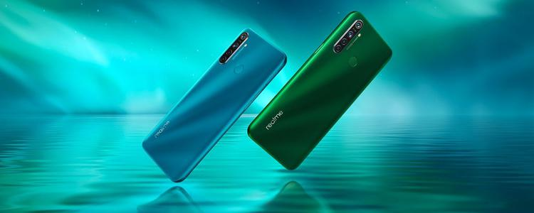 Realme 5i Officially Launched with Waterdrop Display, Quad Rear Camera Module, Price Starting at $126