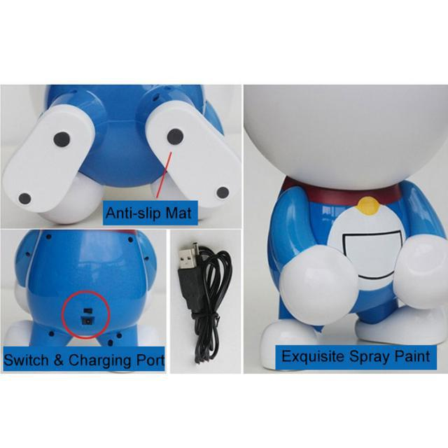 Don't Miss Favorite Cartoon in Childhood. Let the Doraemon Desk Lamp Be with You, Brighten Every Night, and Warm Your Heart!