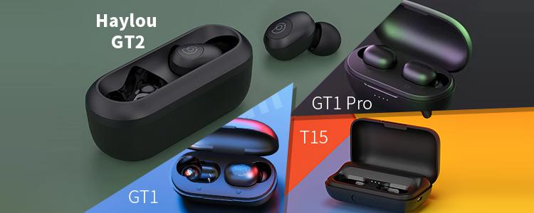 Haylou GT2 vs GT1 vs GT1 Pro vs T15: What are the Differences? Are Haylou GT2 TWS Bluetooth Earbuds Worth Buying Among All Haylou Products?