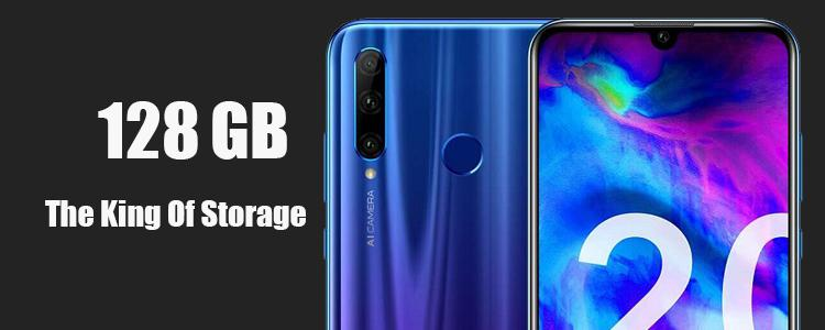 Honor 20 Lite: The King Of Capacity Storage Up To 512 GB SD