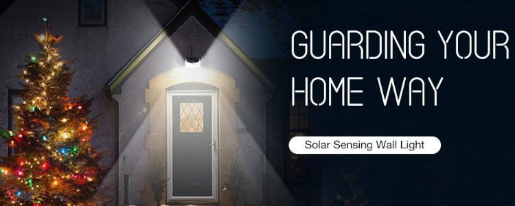 It is the Best Solar-powered Wall Light For Your Home With 208 LED in 2020