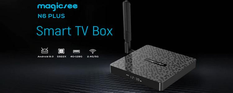 Magicsee N6 Plus is a New Powerful TV Box Powered By S922X SoC