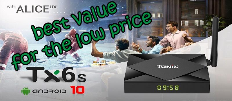 Tanix TX6S Android 10.0 Smart 4K TV Box Review