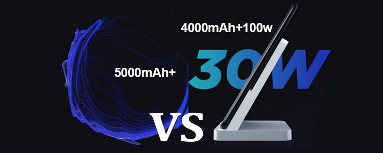 5000mAh 30W vs 4000mAh 100W Fast-charging Smartphone, How to Choose? Xiaomi Mi MIX 4 Might Release with 100W Fast Charging