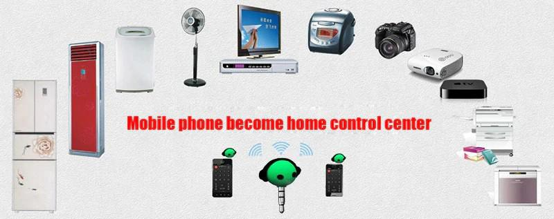 How To Turn Your Mobile Phone Into a Remote Control to Control Home Appliances Remotely