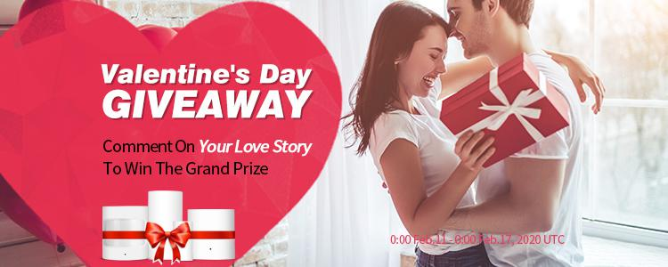 Valentine's Day GIVEAWAY: Comment On Your Love Story To Win The Grand Prize Provided By Gearbest Community!