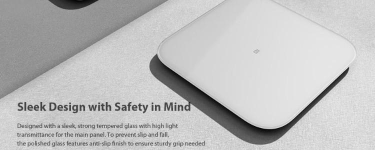 Review Xiaomi Mi scale 2 (2020): smart scale with app for $44.84