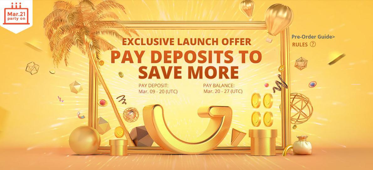 It Would be More Cost-Effective to Pay a deposit On Gearbest's 6th Anniversary Sale.
