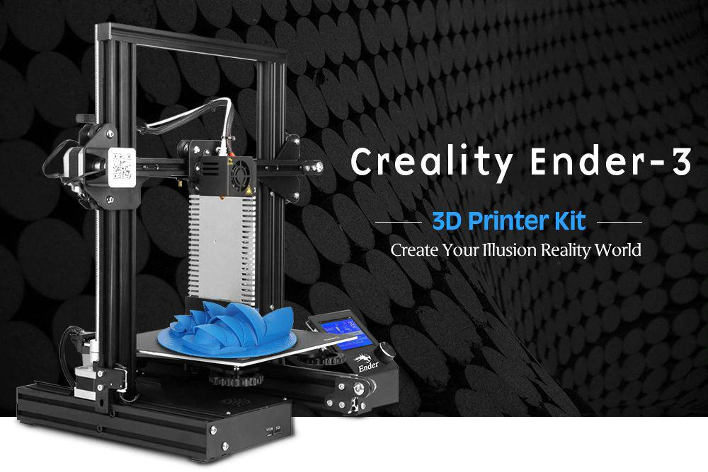 Creality 3D Ender-3. Сheap and Сheerful.