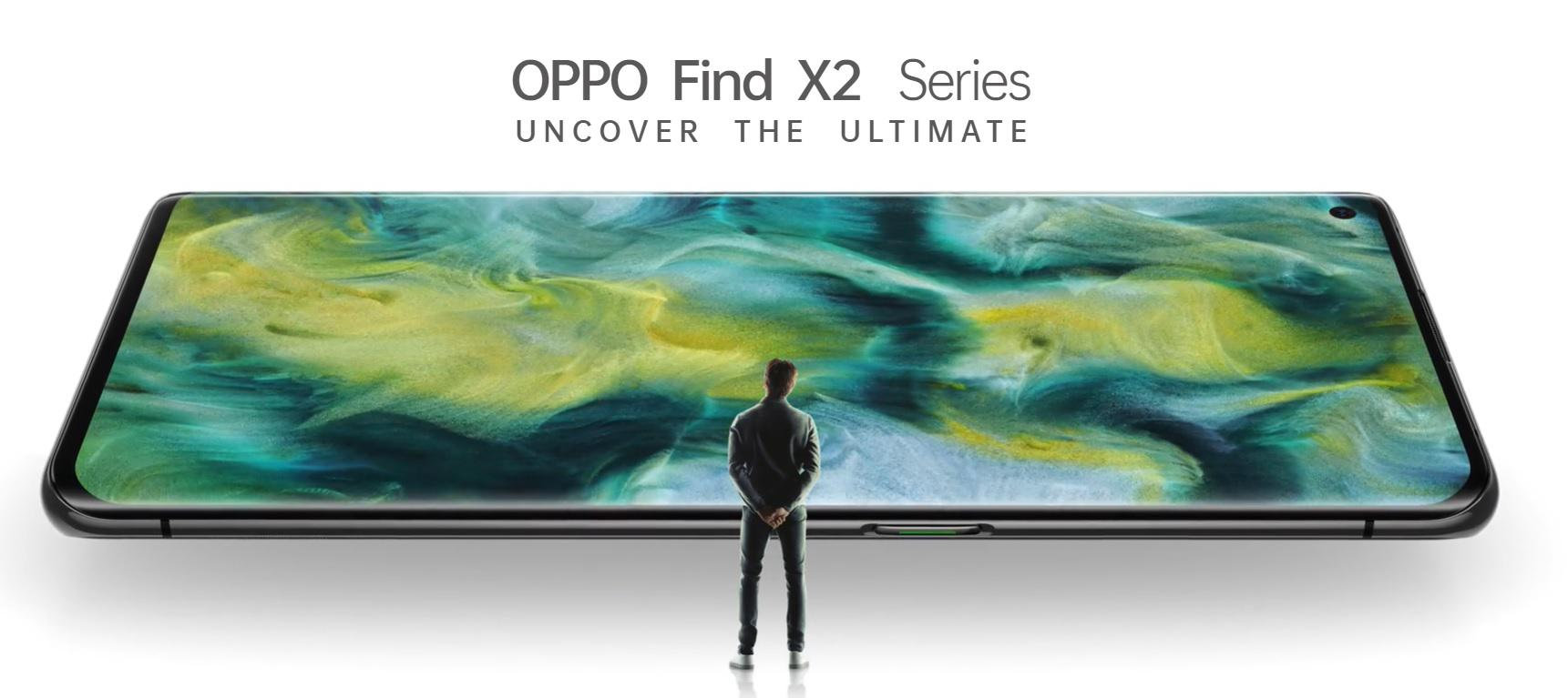 Fast, Fashionable, Fantastic. New Oppo Find X2 Pro.