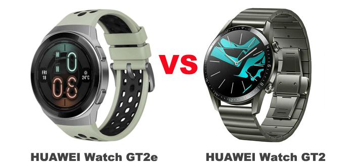 Huawei Watch Gt2e Vs Watch Gt2 What S The Difference Between Them Gearbest Blog