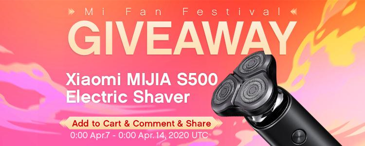 Mi Fan Festival GIVEAWAY: The Most Handsome Mi Fan Will Get The best Xiaomi MIJIA S500 Electric Shaver FOR FREE!