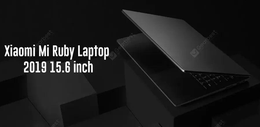 Xiaomi Mi Notebook Ruby: the Cheapest Laptop from Xiaomi.