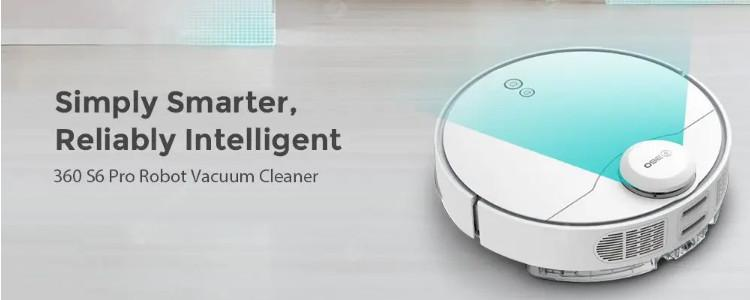 360 S6 Pro: A Powerful Robot Vacuum For Multi-Level Houses