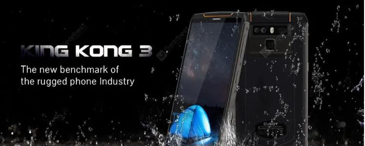 Cubot King Kong 3 Smartphone Review