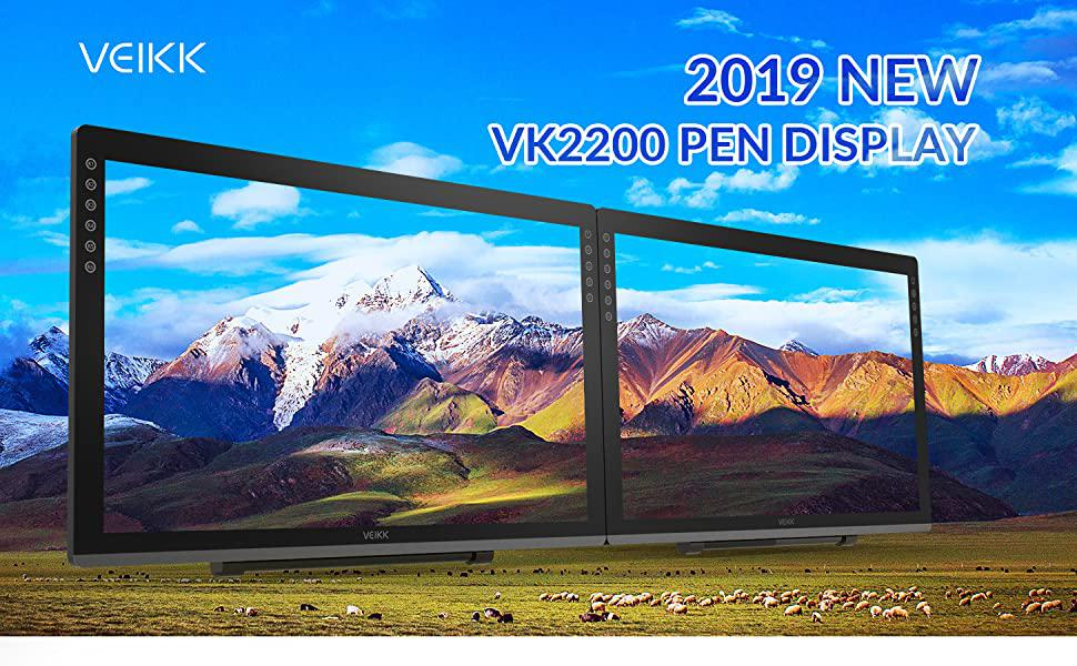 Veikk VK2200 pen display : All the information you need
